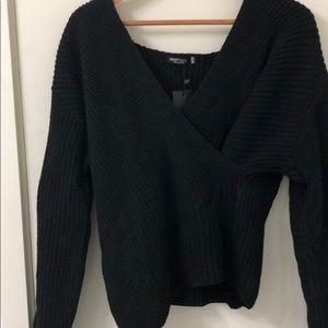 Wrapover Sweater